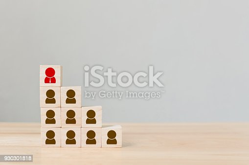 istock Human resource management and recruitment business concept, Copy space 930301818