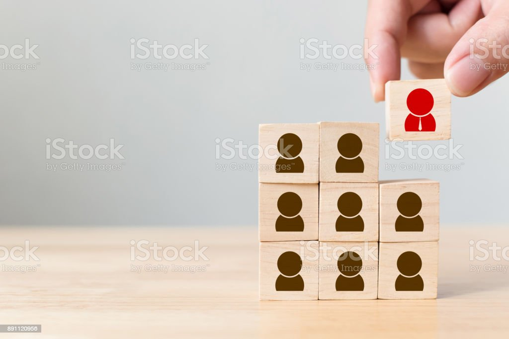 Human resource management and recruitment business concept - Foto stock royalty-free di Abilità