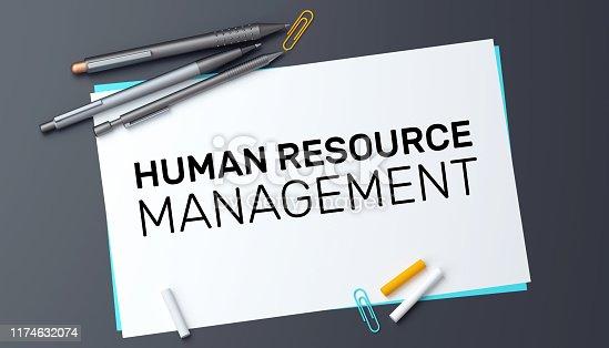 483424715 istock photo Human Resource Management Concept 1174632074
