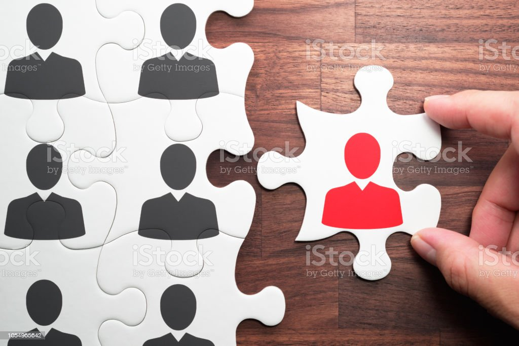 Human resource management. Personnel, employment and recruitment concept. royalty-free stock photo