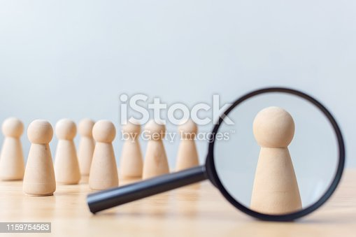 istock Human resource, Talent management, Recruitment employee, Successful business team leader concept 1159754563
