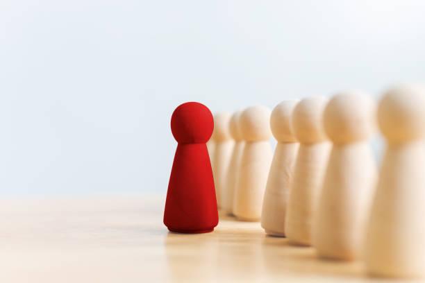 personal, talentmanagement, personalbeschaffungsmitarbeiter, erfolgreiches business team leader-konzept - individualität stock-fotos und bilder