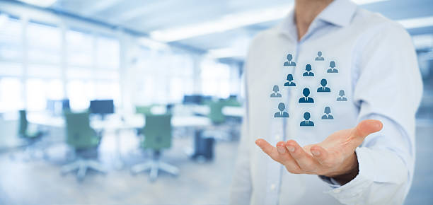 Human resources und Kundenservice – Foto