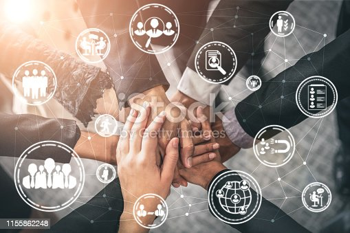 istock Human Resources and People Networking Concept 1155862248