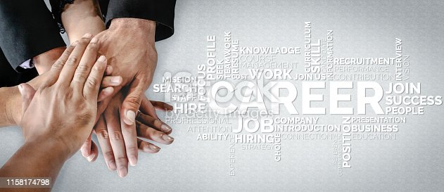 istock Human Resources and People Networking Concept 1158174798