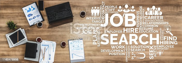 istock Human Resources and People Networking Concept 1160478958