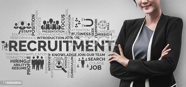 istock Human Resources and People Networking Concept 1169699855