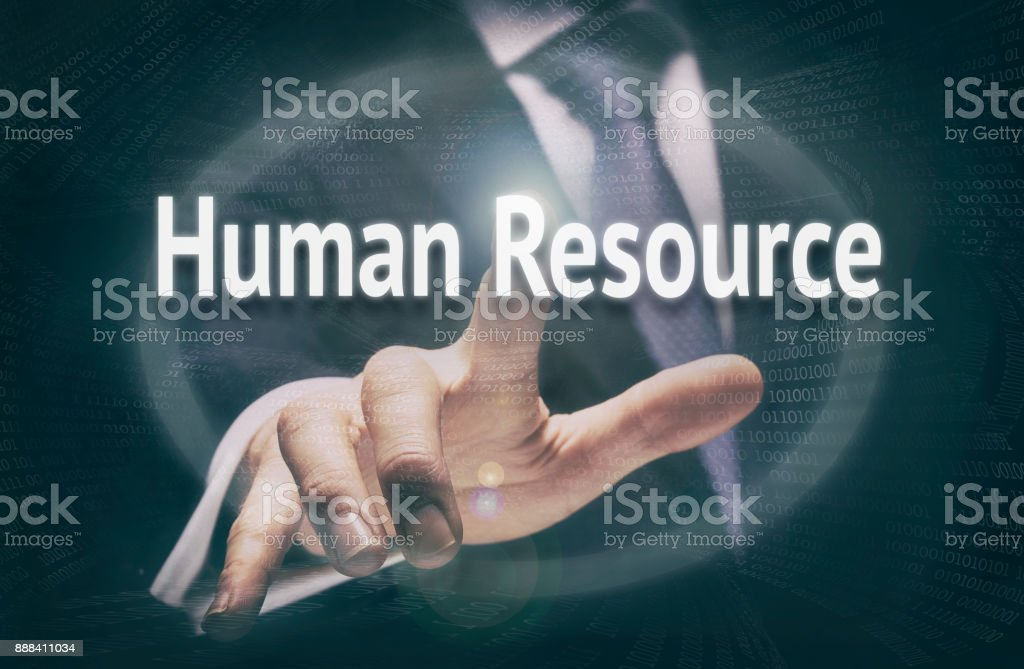 Human Resources Concept stock photo