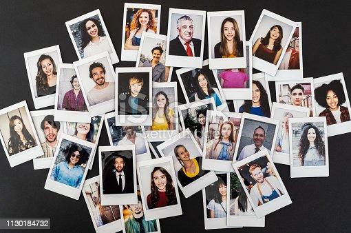 Portrait Polaroid photos