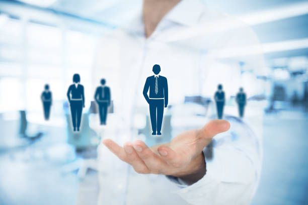 human resources-pool - mitarbeiterengagement stock-fotos und bilder