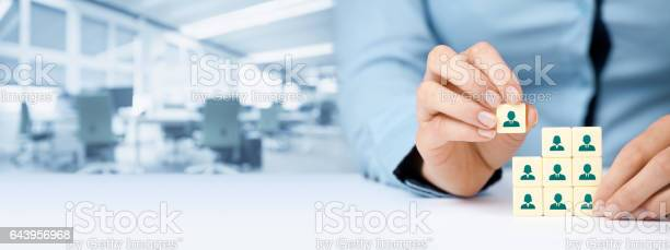 Human Resources Social Networking Und Assessmentcenterkonzept Stockfoto und mehr Bilder von Anwerber