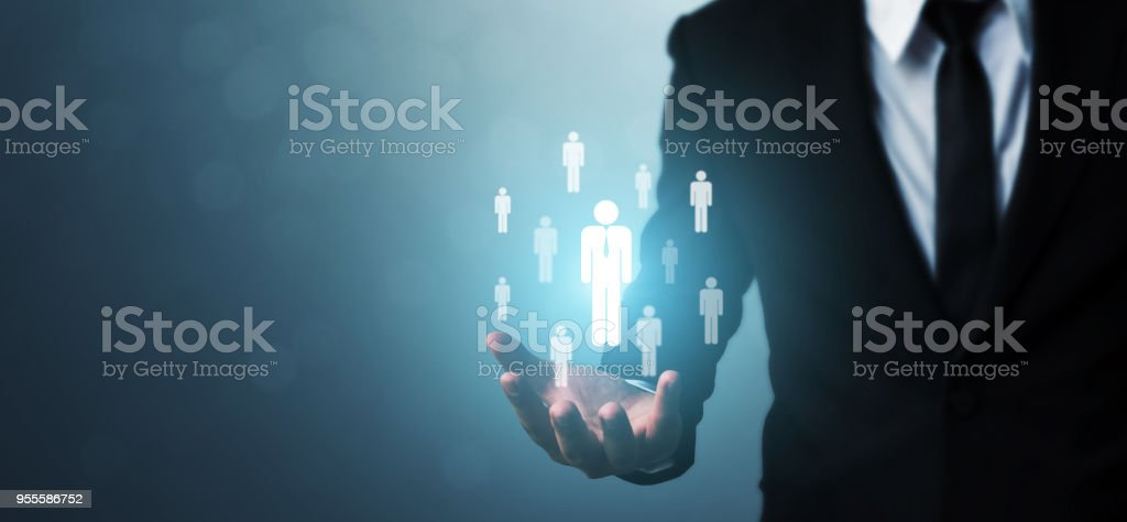 Human Resources, Talent Management und Rekrutierung Geschäftskonzept und leere Kopie Platz für Ihren text – Foto