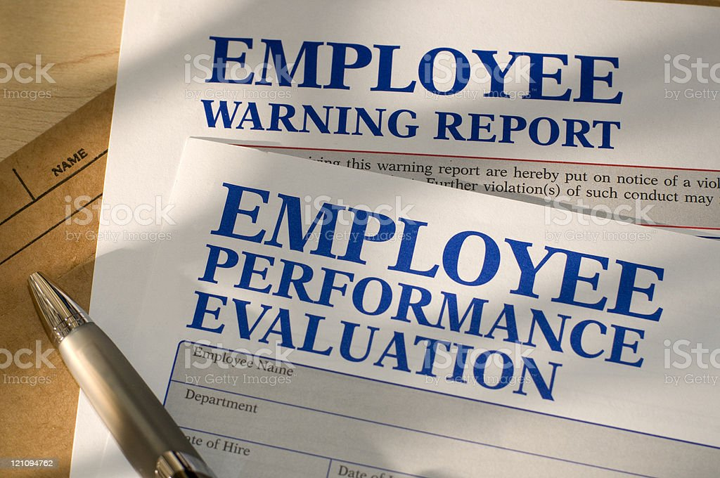 Human Resources Work Related Forms stock photo