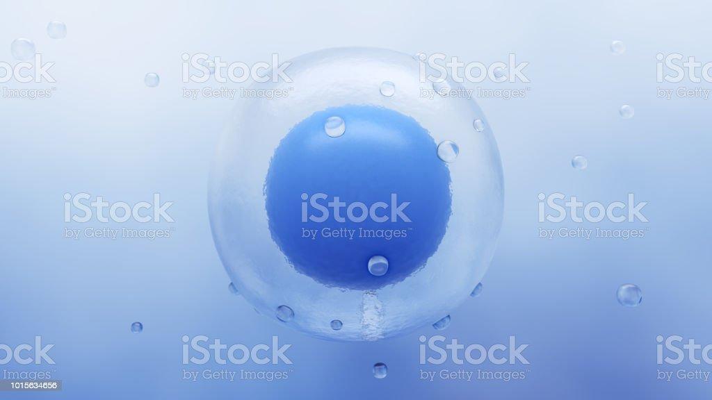Human Stem Cell stock photo