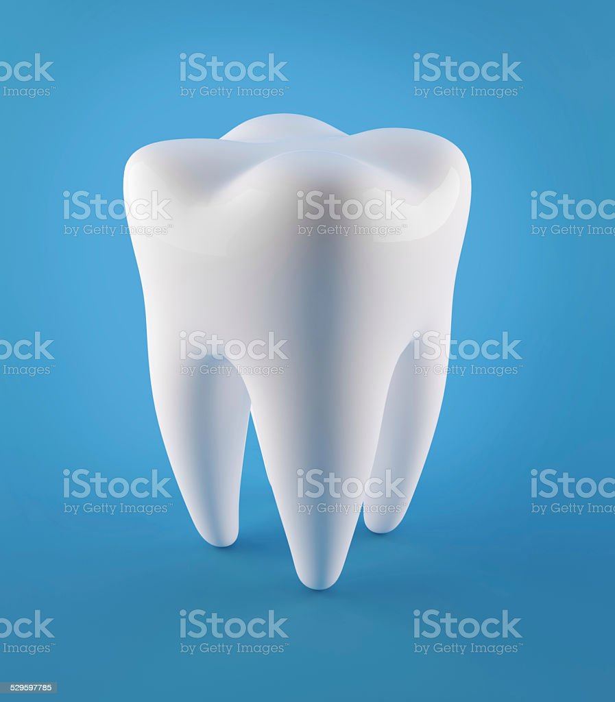 3D Human Teeth stock photo