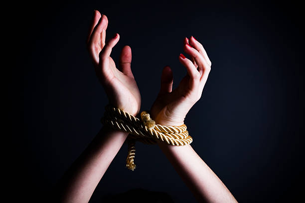 human trafficking - tangled stock photos and pictures