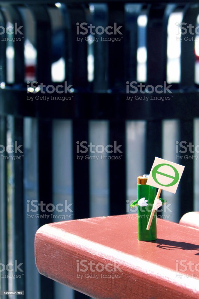 Humanized Figure Made Of Aa Battery Holds In Hands Poster With The