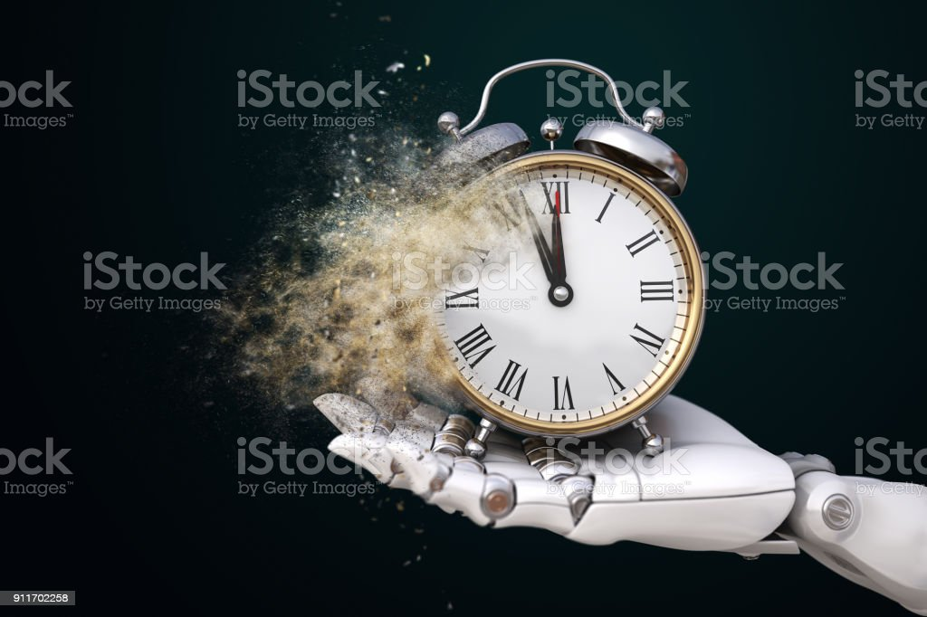 Humankind's Time stock photo