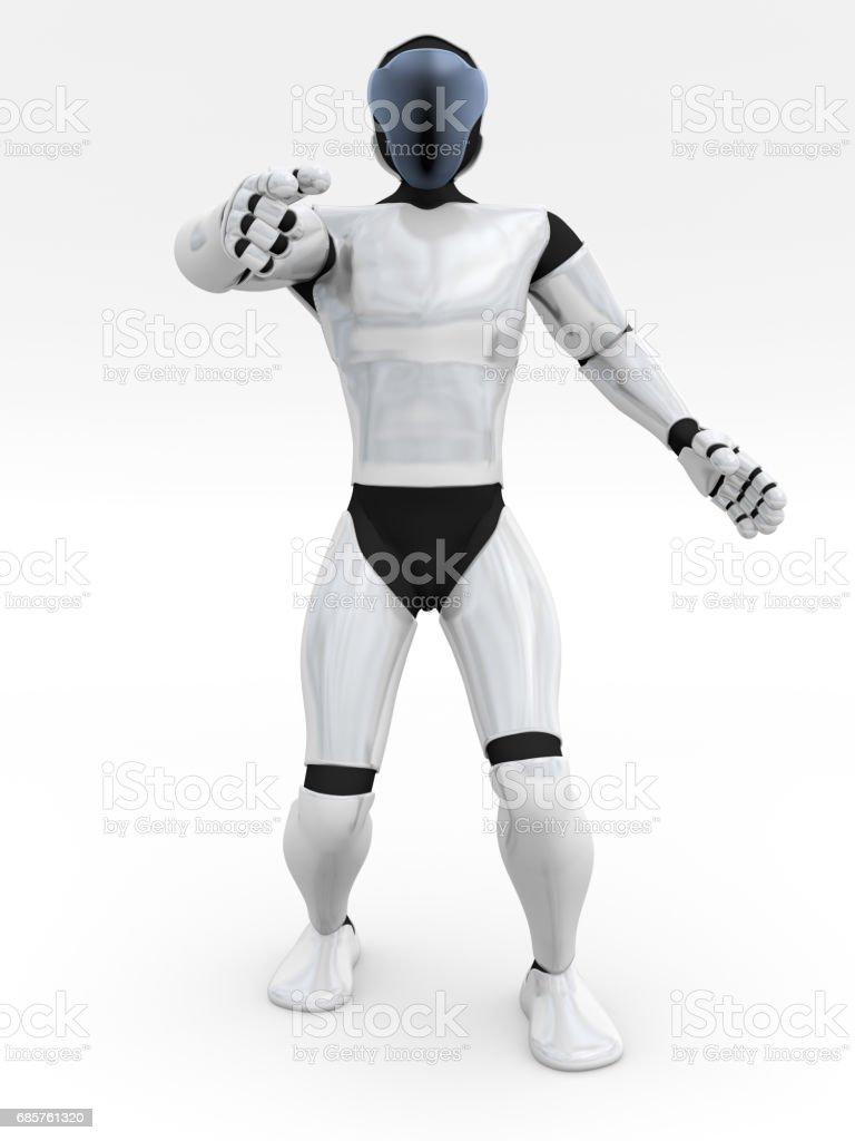 humanoid foto stock royalty-free