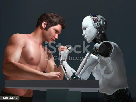 1050855372 istock photo human-robot competition 148144769