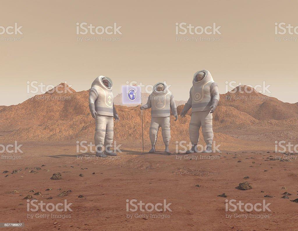 Menschen Hindernisse ein planet – Foto