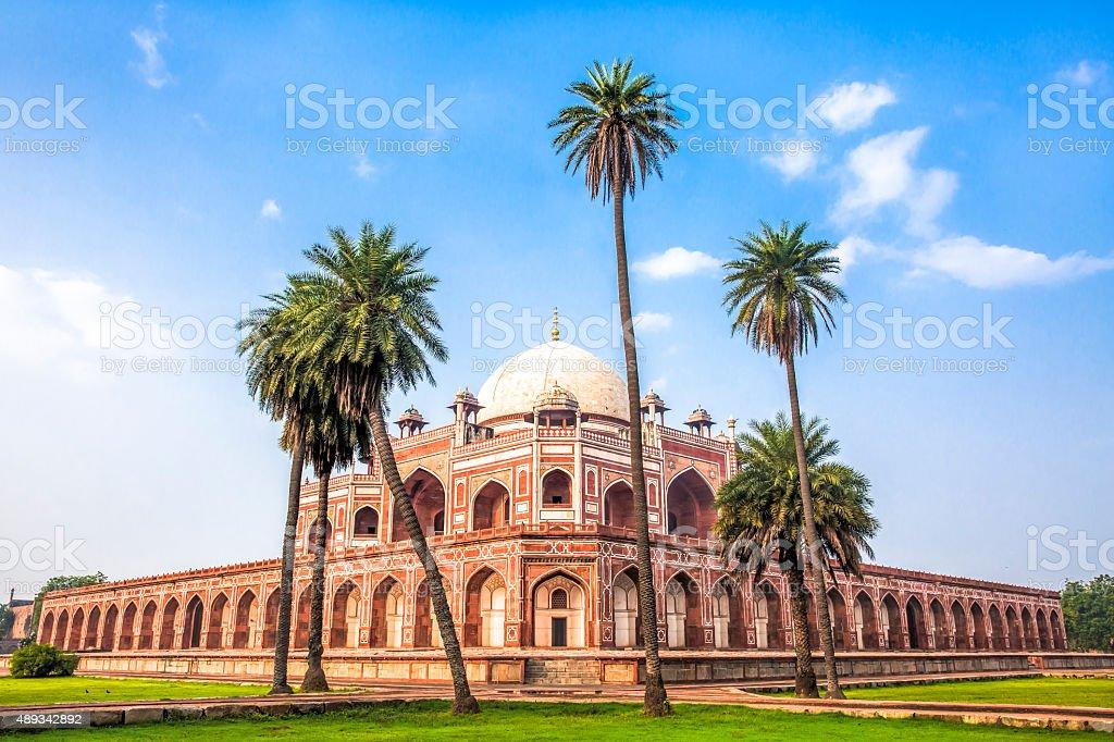 Humayun's Tomb, Delhi, India - CNGLTRV1109 stock photo