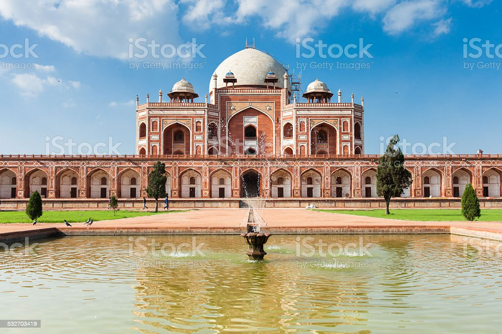 Humayun's Tomb, Delhi, India stock photo