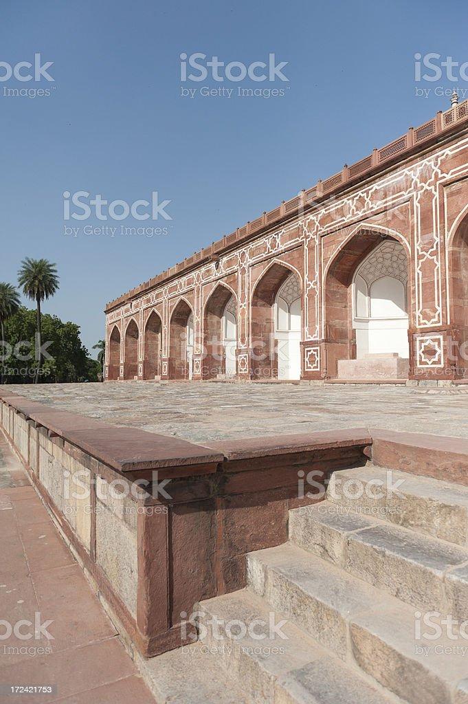 humayun's tomb in Delhi royalty-free stock photo