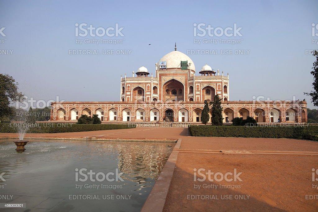 Humayun's Tomb, New Delhi, India royalty-free stock photo