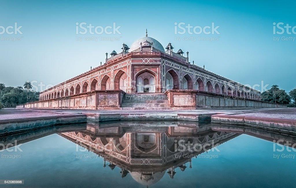 Humayun's Tomb- New Delhi stock photo