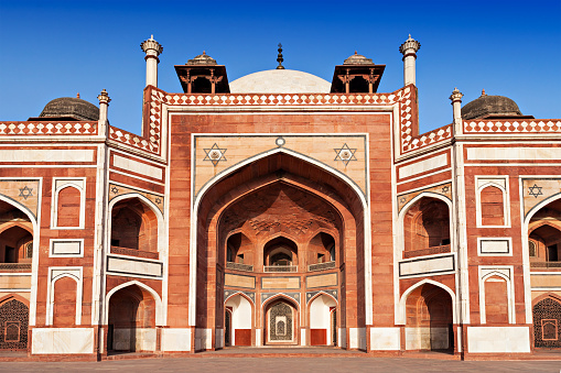 Humayuns Tomb Stock Photo - Download Image Now