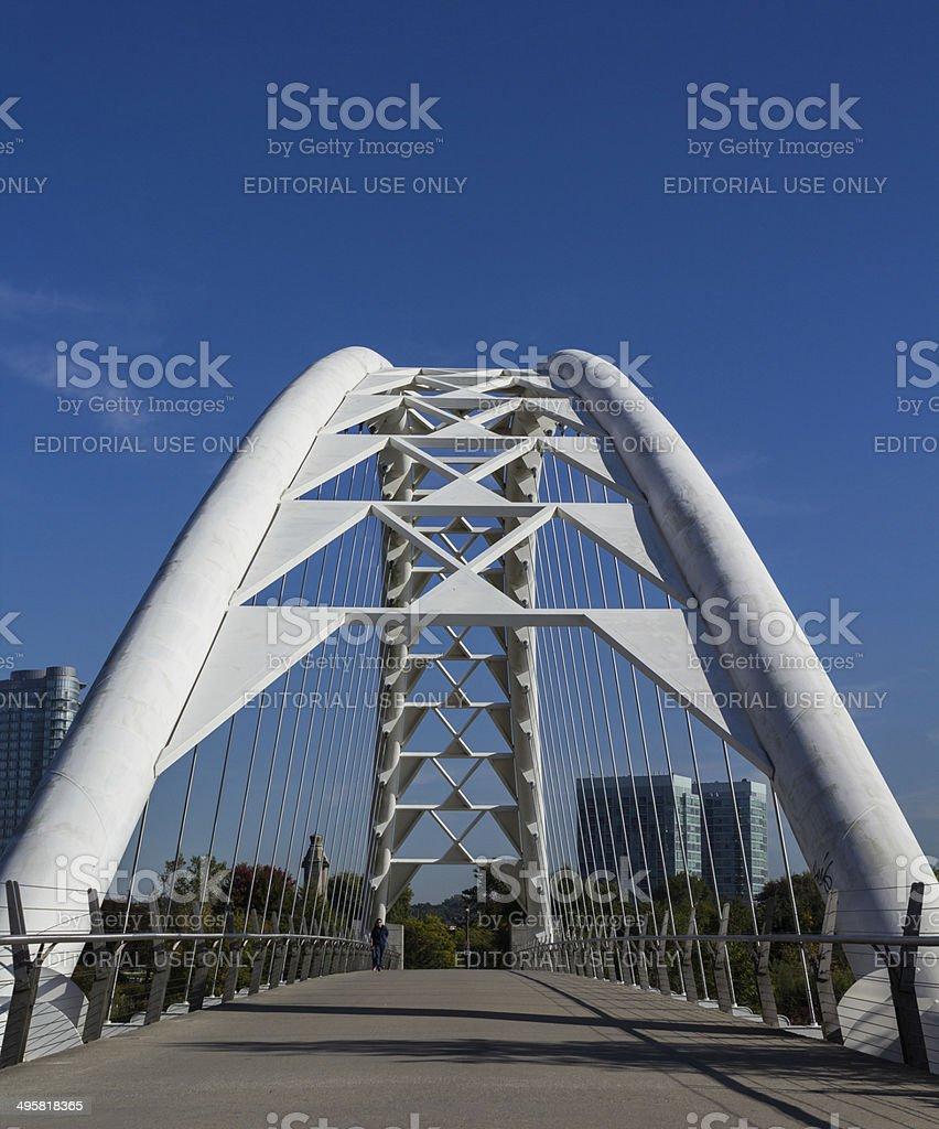 Humber Bridge Front stock photo