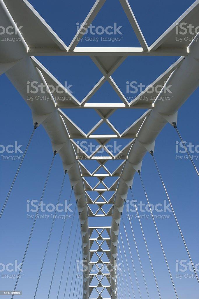 Humber Bridge royalty-free stock photo