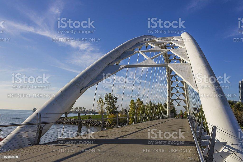 Humber Bridge Toronto stock photo