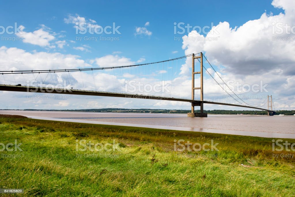Humber Bridge UK stock photo