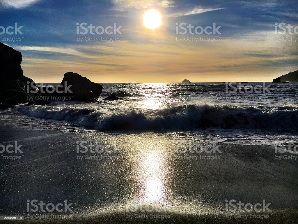 Humboldt tide stock photo