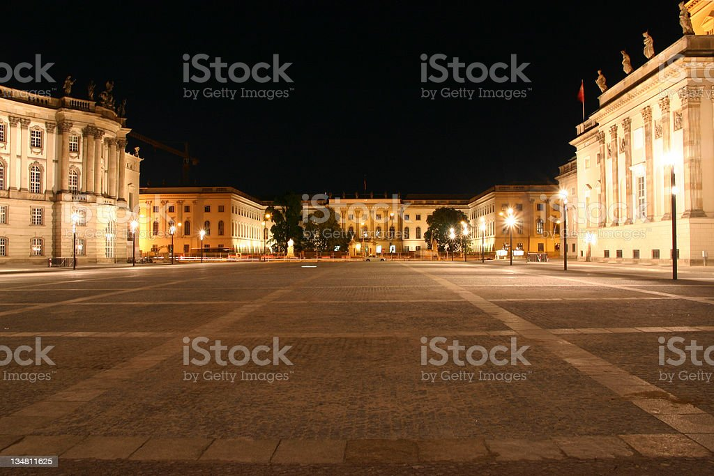 Humboldt University royalty-free stock photo