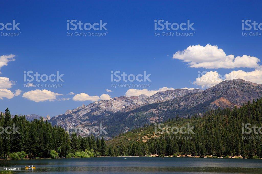 Hume Lake stock photo
