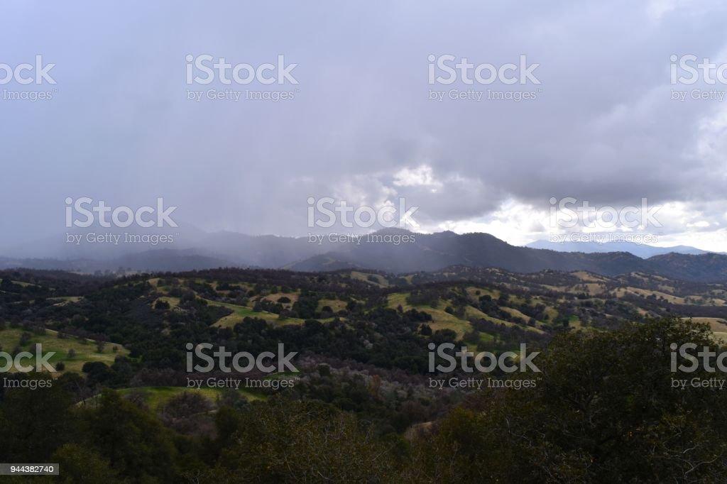 Hume, SW Sierras stock photo