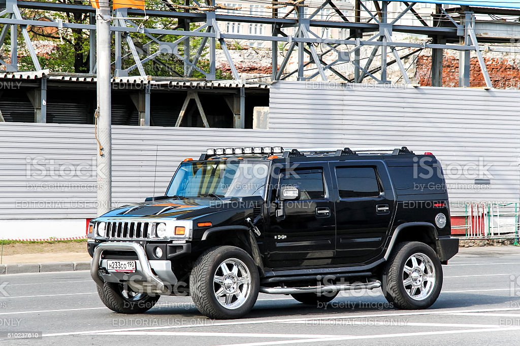 Hummer H2 stock photo