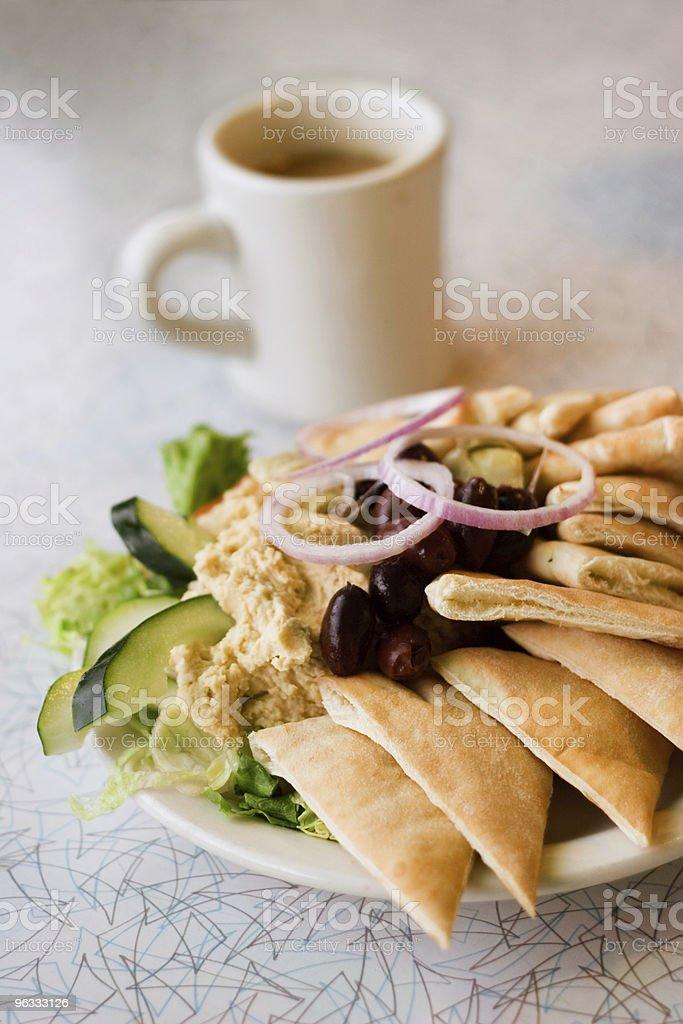 Hummus royalty-free stock photo