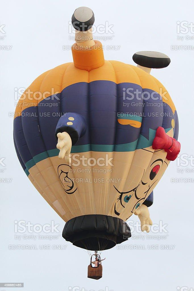 humpty dumpty hot air balloon royalty-free stock photo