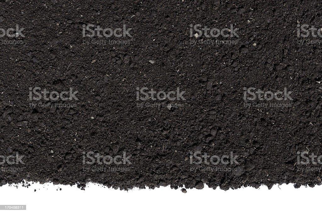 Humus Soil Background stock photo