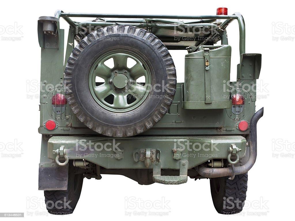 humvee military truck stock photo