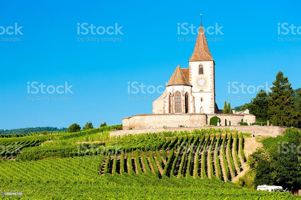 Hunawihr, Alsazia, Francia - foto stock