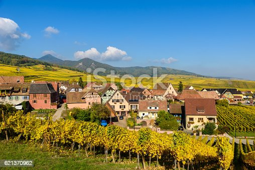 925850210istockphoto Hunawihr - small village in vineyards of alsace - france 621370962