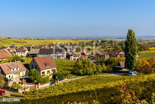 925850210istockphoto Hunawihr - small village in vineyards of alsace - france 621372860