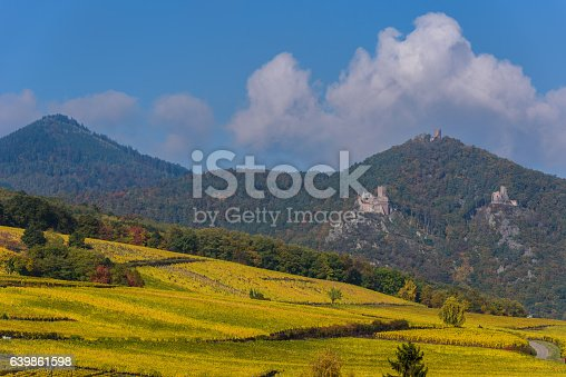 925850210istockphoto Hunawihr - small village in vineyards of alsace - france 639861598