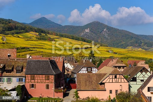 925850210istockphoto Hunawihr - small village in vineyards of alsace - france 639861862