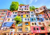 istock Hundertwasser house in Vienna, Austria 1222731665